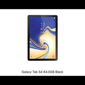 Galaxy Tab S4 - 64GB Black